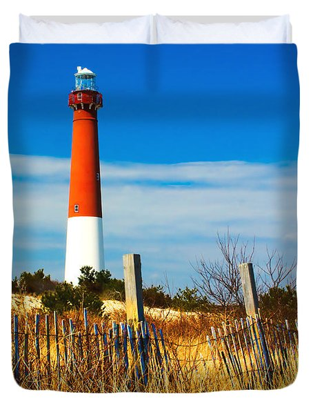 Spring At Barnegat Duvet Cover