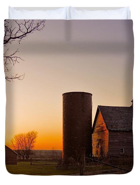Spring At Birch Barn 2 Duvet Cover