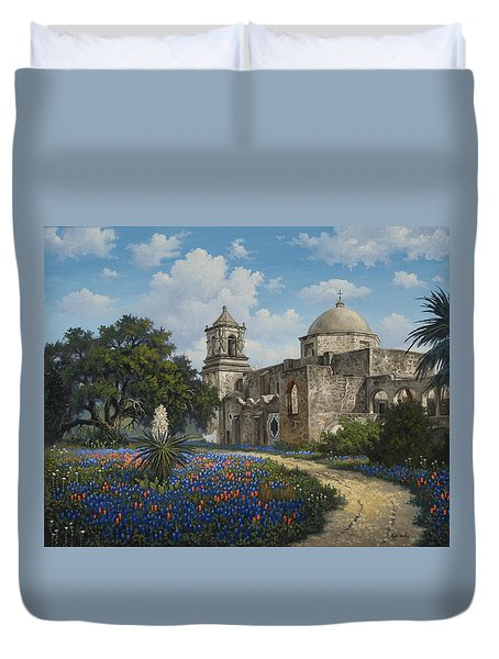 Spring At San Jose Duvet Cover