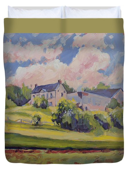 Spring At The Hoeve Zonneberg Maastricht Duvet Cover