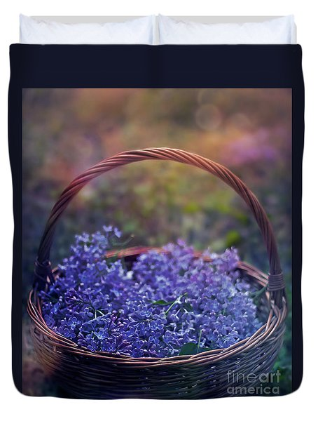 Spring Basket Duvet Cover