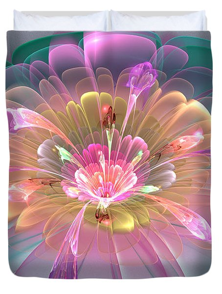 Spring Bloom Duvet Cover by Peggi Wolfe