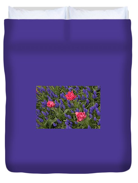 Spring Blooms Duvet Cover by Phyllis Peterson