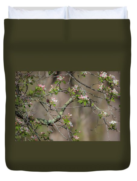 Spring Blossoms 2 Duvet Cover