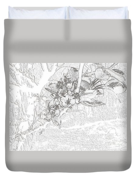 Spring Blossums Duvet Cover