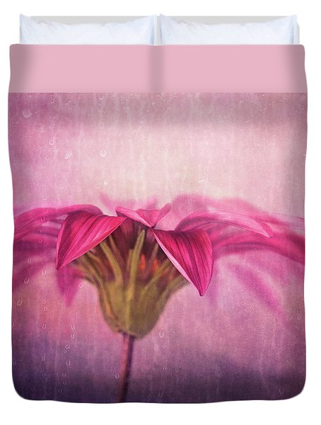 Duvet Cover featuring the photograph Spring Blush by Amy Weiss