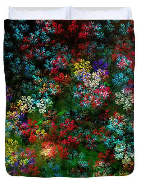 Spring Bouquet Duvet Cover by Adam Vance