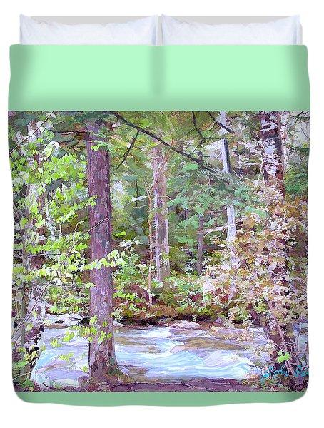 Spring Brook Duvet Cover