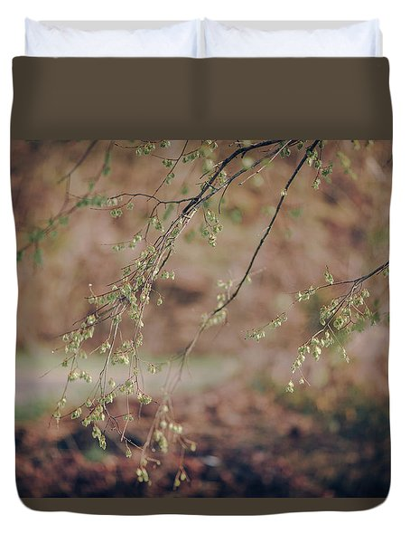 Spring Buds Duvet Cover