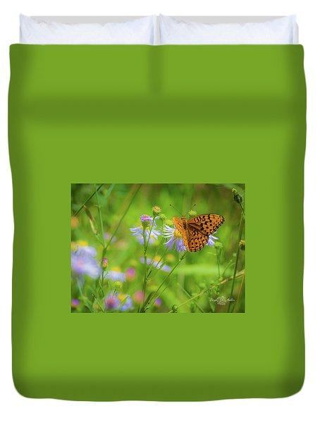 Spring Butterfly Duvet Cover