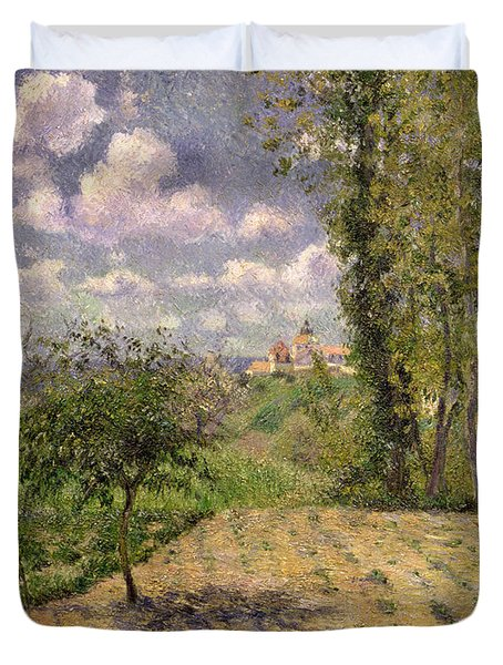 Spring Duvet Cover by Camille Pissarro