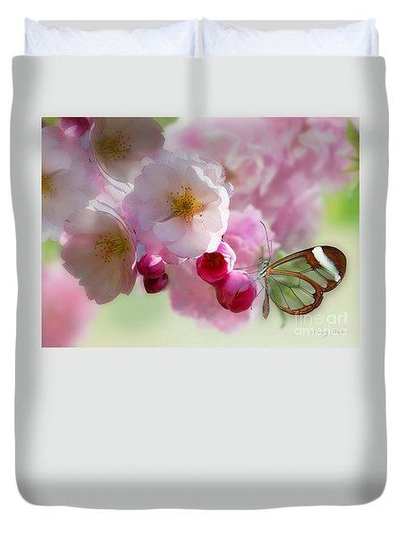 Spring Cherry Blossom Duvet Cover