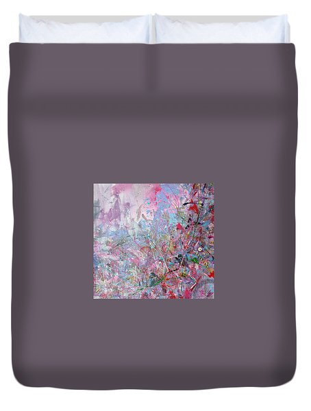 Spring Collage Duvet Cover