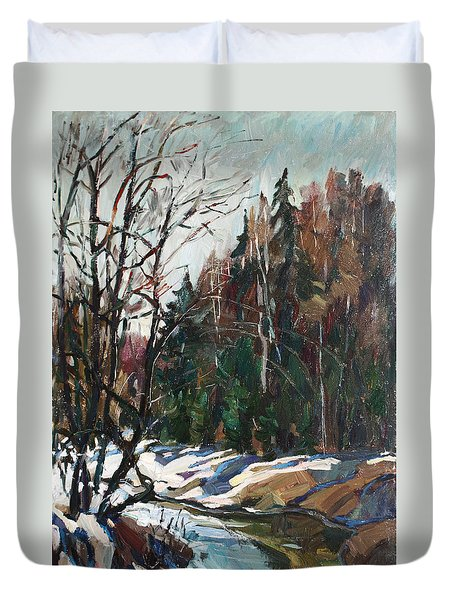 Spring Creek Duvet Cover