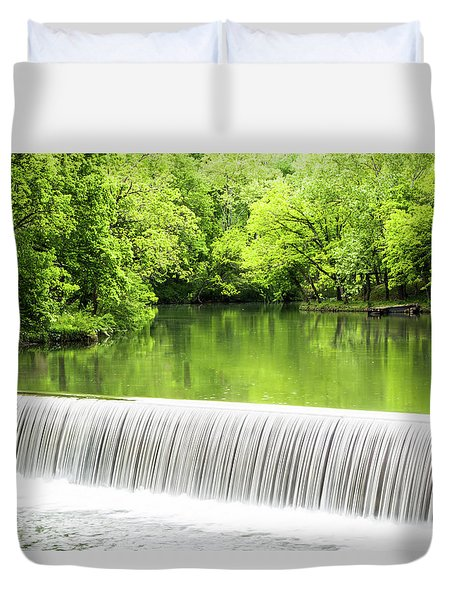 Duvet Cover featuring the photograph Spring Days In Helena by Parker Cunningham
