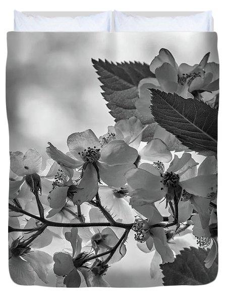 Spring Dream Bw Duvet Cover