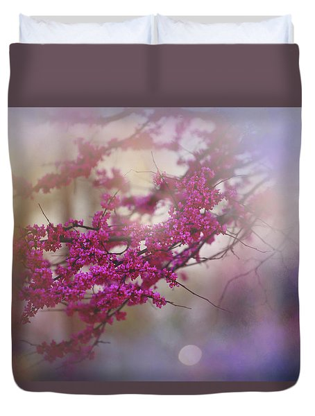 Duvet Cover featuring the photograph Spring Dream I by Toni Hopper