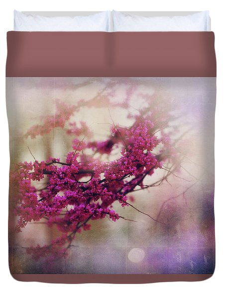 Duvet Cover featuring the photograph Spring Dreams IIi by Toni Hopper