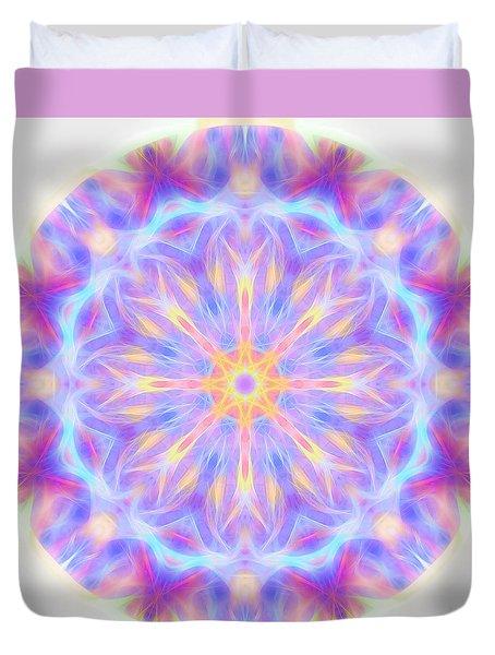 Spring Energy Mandala 3 Duvet Cover