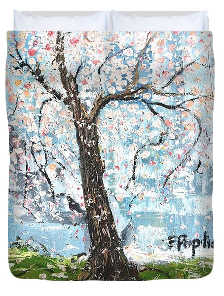 Spring Expression Duvet Cover