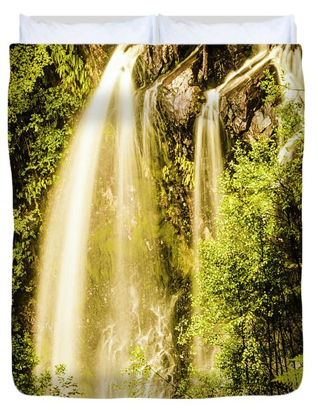 Spring Falls Duvet Cover