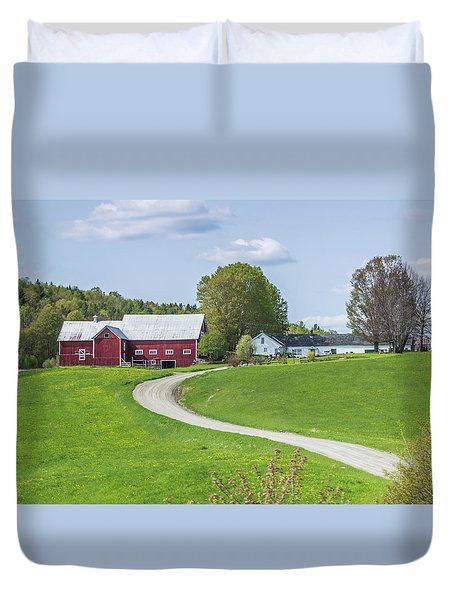 Spring Farm Duvet Cover by Tim Kirchoff