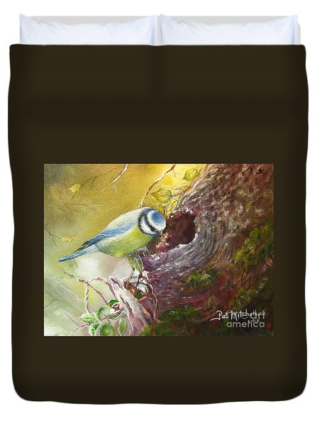 Spring Feeding Duvet Cover