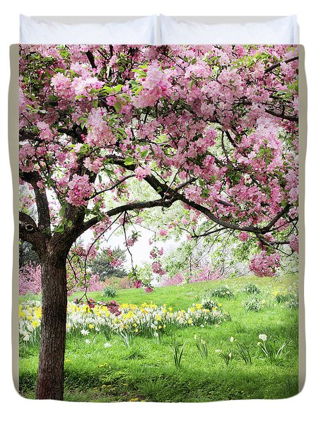 Duvet Cover featuring the photograph Spring Fever by Jessica Jenney