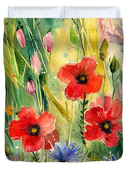 Spring Field Duvet Cover