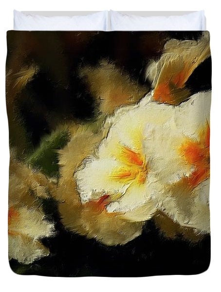 Spring Floral Duvet Cover by David Lane