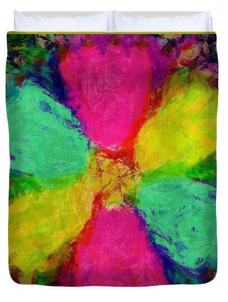 Spring Floral Duvet Cover by Susan Leggett