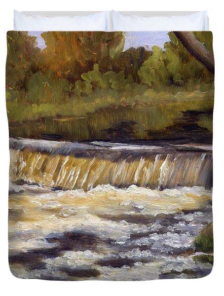 Spring Flow Duvet Cover by Sharon E Allen