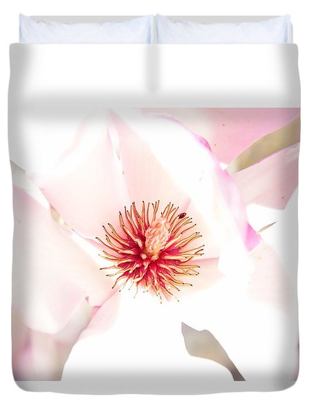 Spring Flower Blossoms Duvet Cover