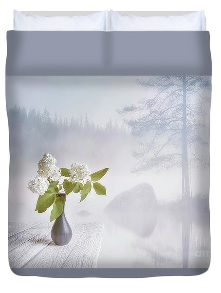 Spring Flowers 2 Duvet Cover