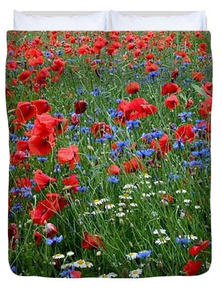 Spring Flowers Duvet Cover
