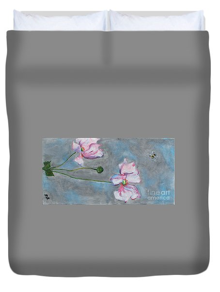 Spring Flowers  Duvet Cover