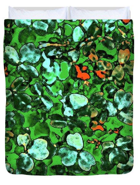 Spring Foiliage Duvet Cover