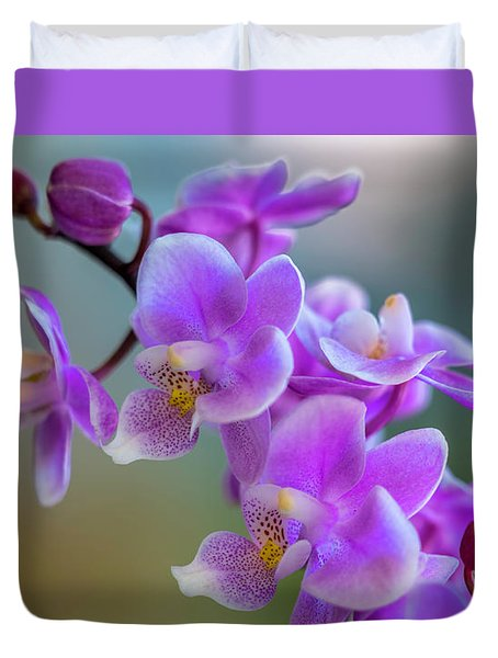 Duvet Cover featuring the photograph Spring For You by Marvin Spates