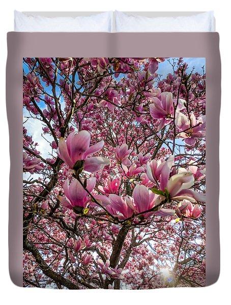 Spring Fractals Duvet Cover