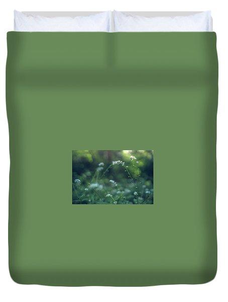 Spring Garden Scene #1 Duvet Cover