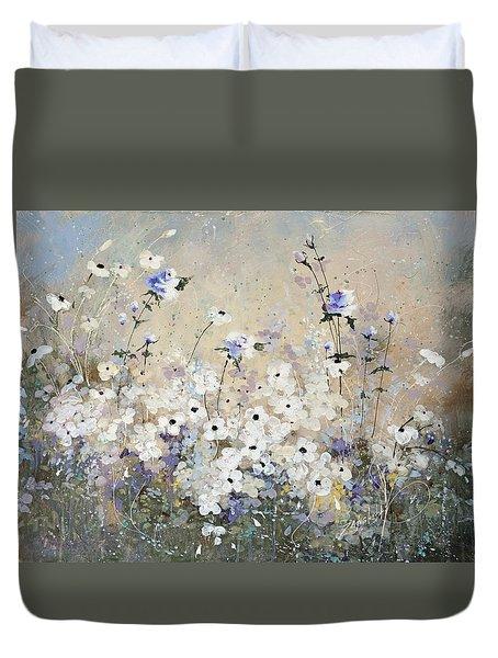 Spring Gardens Duvet Cover by Laura Lee Zanghetti