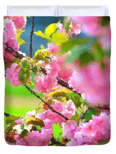 Spring Glory Duvet Cover