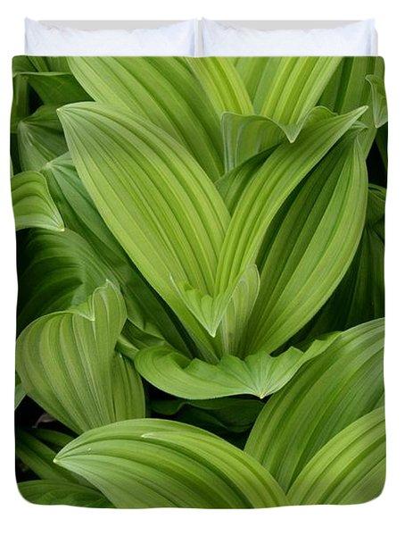 Spring Green Duvet Cover