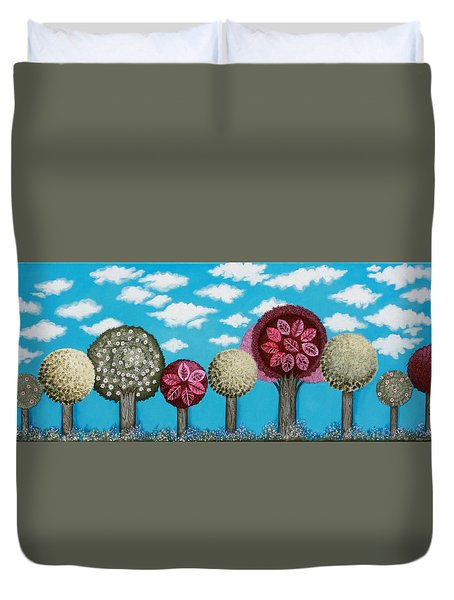 Spring Grove Duvet Cover by Graciela Bello