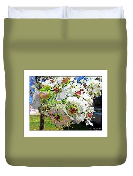 Spring Has Sprung Duvet Cover by Deborah Nakano