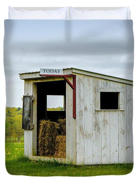 Spring Hay Duvet Cover