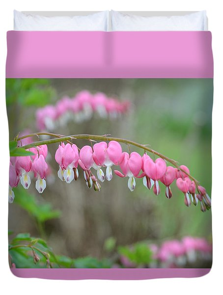 Spring Hearts Duvet Cover
