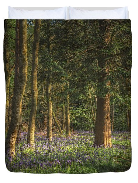 Spring In Haywood No 2 Duvet Cover