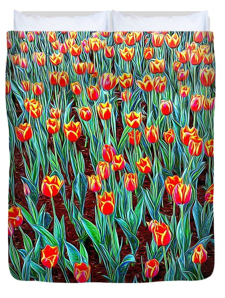 Spring In Holland Duvet Cover