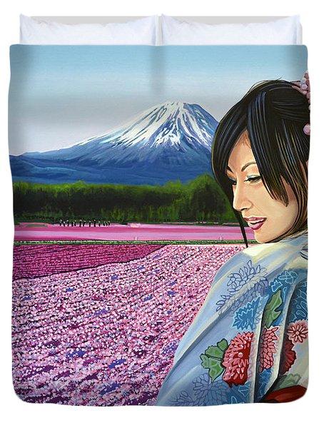 Spring In Japan Duvet Cover